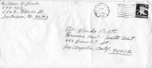 William Bobnin Envelope