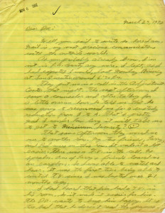 William Bonin Letter 01