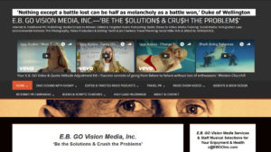 E.B. GO Vision Media Home Page Snapshot